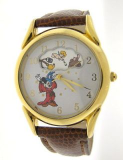 Disney Mickey Mouse Fantasia Sorcerer Rotating Scene Watch by Fossil