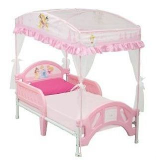 princess canopy bed in Kids & Teens at Home