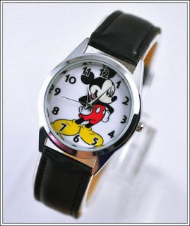 Disney Mickey Mouse Child Girl Boy Watch Wrist Xmas YMQ