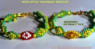 SANTERIA yoruba hand of ORUNMILA bracelet IFA MANO DE ORULA IKOFA