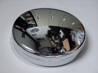 DODGE RAM 3500 FRONT DUALLY CHROME WHEELS CENTER CAPS SET OF 2
