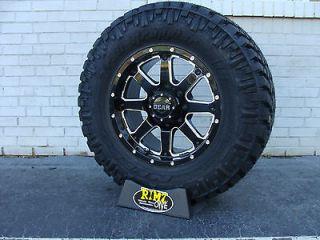 18 Gear Alloy 726MB Wheels 285/65R18 33 Nitto Trail Grappler MT