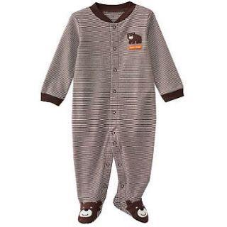 NWT Carters Baby Boy One Piece Pajama Sleep & Play Sleepwear Footed 3