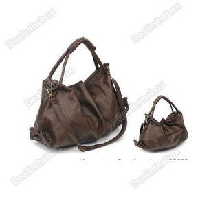 brown leather handbag in Handbags & Purses