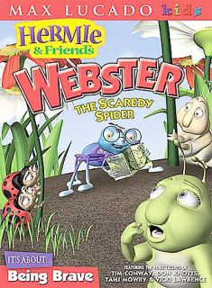 Hermie Friends   Webster the Scaredy Spider DVD, 2004