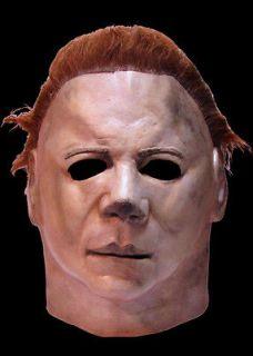 Michael Myers Mask Halloween II 2 offically licensed BOTH MASK BRAND
