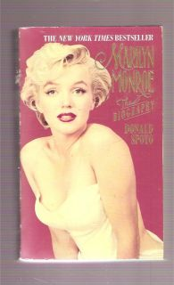 MARILYN MONROE *PB*  BIOGRAPHY~DONALD SPOTO~1994~ (WITH PULL OUT BK