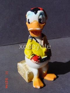 1960s DONALD DUCK PIRATE SODA PREMIUM ADVERTISING MEXICAN VINYL