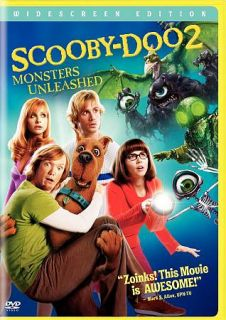 The Scooby Doo 2 Monsters Unleashed Goonies DVD, 2005