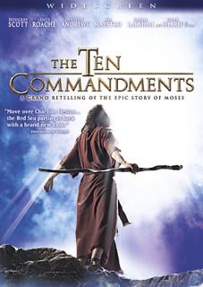 The Ten Commandments   The Complete Miniseries DVD, 2007, Repackaged