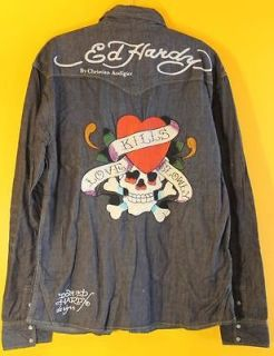 ed hardy mens shirts in T Shirts