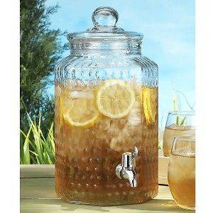 glass beverage dispenser in Home & Garden