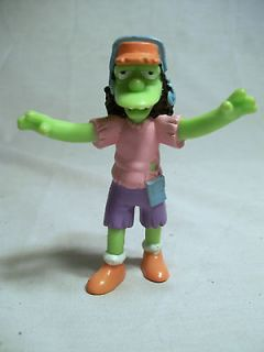 Simpsons   Zombie Otto Halloween PVC Toy Figure  Burger King  Driver