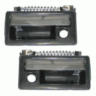 Exterior Outside Front Door Handle Pair Set Driver+Passenger Sides