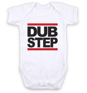 DUB STEP RUN DMC   HIP HOP MUSIC   Baby Grow Bodysuit