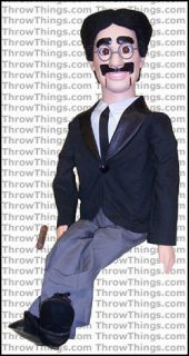 Groucho Marx Deluxe Upgrade Ventriloquist Dummy Doll Puppet With
