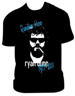 Ryan Dunn (from jackass) memorial t shirt   Random Hero