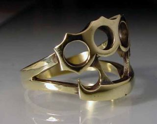 brass knuckles in Mens Jewelry