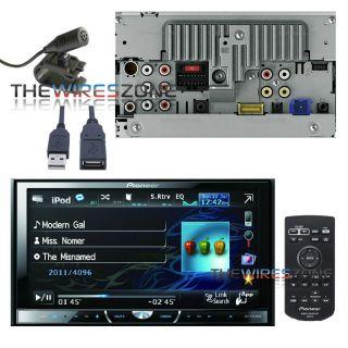 PIONEER AVH P4400BH 2 DIN 7 DVD/CD//IPOD/IPHONE/USB/BLUETOOTH CAR