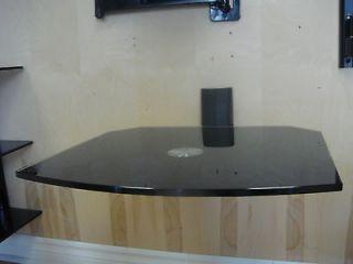 SINGLE WALL MOUNT SHELF   SWIVEL   FOR HD BOX DVD PLAYER XBOX