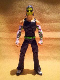 WWE Mattel Elite Unreleased Prototype JEFF HARDY of Hardy Boyz Mint