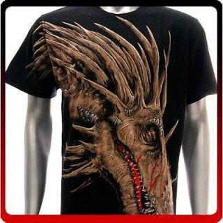 r110 Rock Eagle T shirt Sz M SPECIAL Tattoo Skull Dragon Reaper Ghost