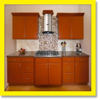 All Solid Wood KITCHEN CABINETS Sierra 10x10 RTA