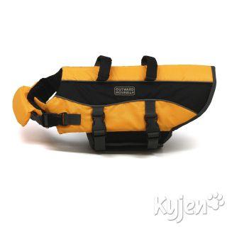 Outward Hound 2012 Pet Dog Safety Life Jacket Preservers Orange Large