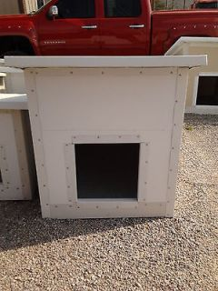 INSULATED DOG HOUSE   WARM IN THE WINTER   COOL IN THE SUMMER!!!