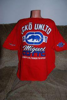 New Mens MMA Mark Ecko Unltd Miguel Cotto Red T Shirt 3XL