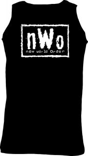 NEW WORLD ORDER NWO T SHIRT VEST WCW WWE WWF Ideal Gift 4 colours 5