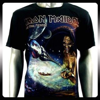 Iron Maiden Heavy Metal Men Rock Punk T shirt Sz XL Biker Rider