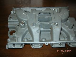 Edelbrock 427 FE Ford Big Block Intake Manifold NOT Sp2 or Performer