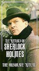 The Return of Sherlock Holmes   The Musgrave Ritual VHS, 1990