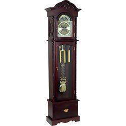 Edward Meyer Grandfather Clock with Beveled Glass 31 Day Movement 3