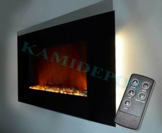 electric fireplace modern in Fireplaces