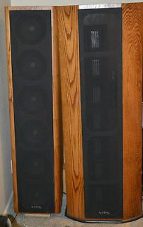 1b Vintage Floor Standing Speakers With Reference Standard Crossover