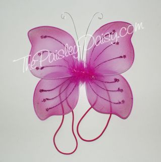 Baby Butterfly or Angel Fairy Wings, Infant or Doll