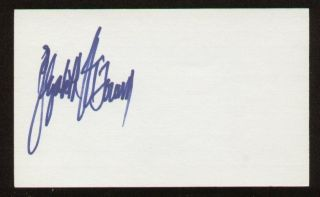 Elizabeth McGovern signed autograph auto 3x5 Evelyn Nesbit in the film