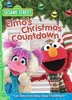 Sesame Street   Elmos Christmas Countdown DVD, 2008