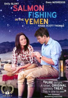 Salmon Fishing in the Yemen DVD, 2012, Includes Digital Copy