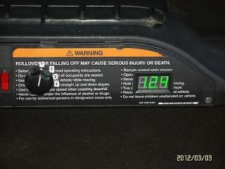 GOLF CART BATTERY METER