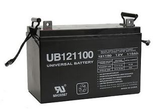 12V 110Ah AGM SLA Solar Battery UB121100 Group 30H Group 31