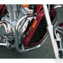 Suzuki Intruder 750 Engine Case Guards Freeway Bars