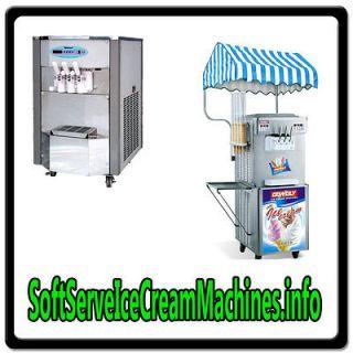 Ice Cream Machines.info WEB DOMAIN FOR SALE/RESTAURANT EQUIPMENT NICH