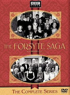The Forsyte Saga   Complete Original Series DVD, 2003, 7 Disc Set