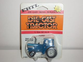 VINTGE ERTL FARM TOY TRACTOR FORD TW35 DIECAST METAL MODEL