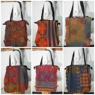 Thai Hmong Handmade Boho Ethnic Totes Purse Shoulder Bag Women Handbag