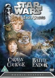 STAR WARS EWOK ADVENTURES DVD CARAVAN OF COURAGE / BATTLE FOR ENDOR