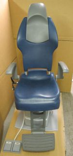 Optometry Optician Opthalmic eye examination electric chair